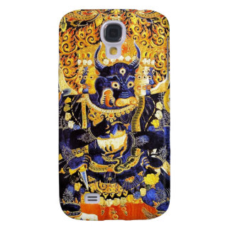 Tatuaje oriental fresco de dios de la muerte de Ya Funda Para Galaxy S4