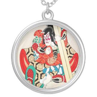 Tatuaje oriental fresco de Kagekiyo del japonés Colgante Redondo