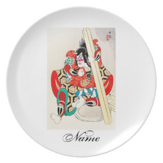 Tatuaje oriental fresco de Kagekiyo del japonés Platos De Comidas
