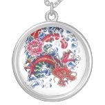 Tatuaje oriental fresco de la flor de Lotus del dr Joyerias
