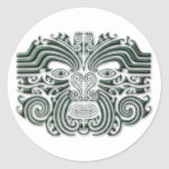 Tatuaje-piedra de Maroi Etiqueta Redonda