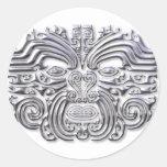 Tatuaje-plata de Maroi Etiquetas Redondas
