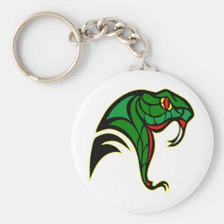 Tatuaje principal de la serpiente llaveros personalizados