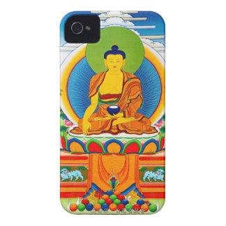 Tatuaje tibetano oriental fresco Aksobhya del iPhone 4 Case-Mate Fundas