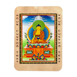 Tatuaje tibetano oriental fresco Aksobhya del Rectangle Magnet