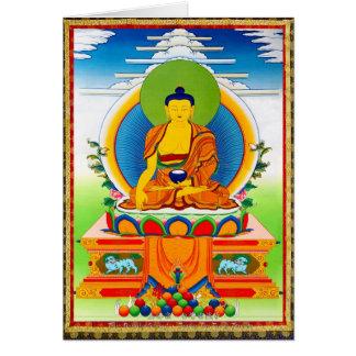 Tatuaje tibetano oriental fresco Aksobhya del Tarjeta Pequeña
