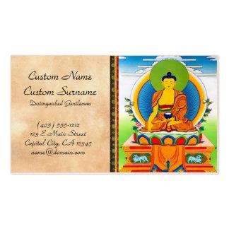 Tatuaje tibetano oriental fresco Aksobhya del Tarjetas De Visita