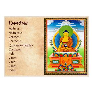 Tatuaje tibetano oriental fresco Aksobhya del Tarjetas De Visita Grandes