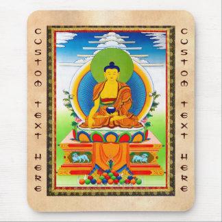 Tatuaje tibetano oriental fresco Aksobhya del than Alfombrillas De Ratón