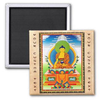 Tatuaje tibetano oriental fresco Aksobhya del than Imán Cuadrado