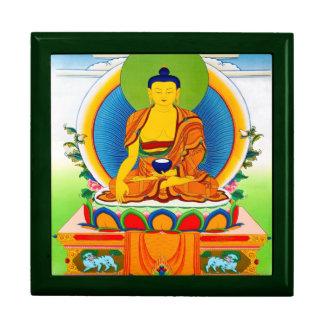 Tatuaje tibetano oriental fresco Aksobhya del than Joyero Cuadrado Grande