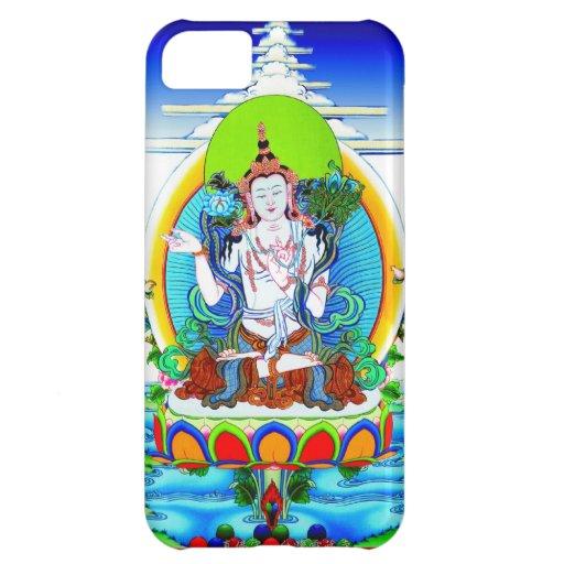 Tatuaje tibetano oriental fresco Bhogavati del tha Funda Para iPhone 5C