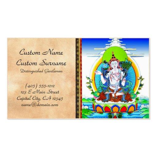 Tatuaje tibetano oriental fresco Bhogavati del tha Tarjetas De Visita