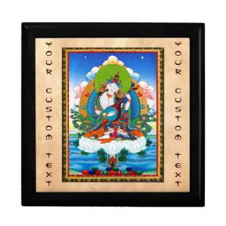 Tatuaje tibetano oriental fresco Saraswati del tha Cajas De Regalo