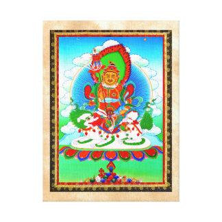 Tatuaje tibetano oriental fresco Vaishravana del t Lona Envuelta Para Galerias