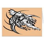 Tatuaje tribal 2 sin título tarjeta de felicitación