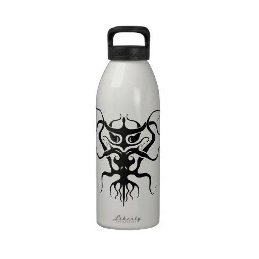 Tatuaje tribal de la especie 273 extranjeros blanc botella de agua