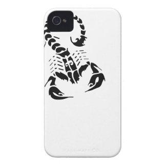 Tatuaje tribal del horóscopo del zodiaco del escor iPhone 4 protectores