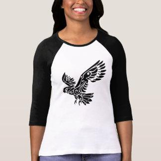 Tatuaje tribal del pájaro del loro de Cockatoo T-shirts