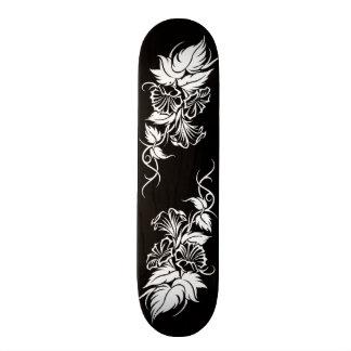 tatuaje tribal floral de la vid tablas de patinar