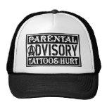 Tatuajes dañados gorra