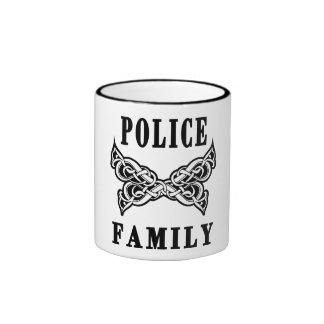 Tatuajes de la familia de la policía taza