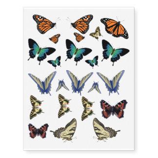 Tatuajes de la mariposa - mariposas; natural tatuajes temporales