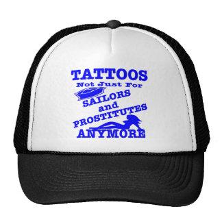 Tatuajes no apenas para los marineros y las prosti gorros bordados