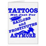 Tatuajes no apenas para los marineros y las prosti felicitaciones