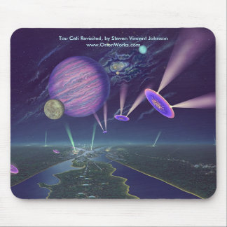 Tau Ceti Revisited , Tau Ceti Revisited, by Ste... Mouse Pad