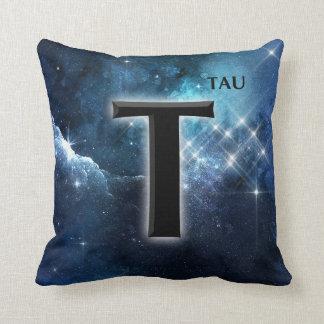 Tau Cross Tree of Life Symbol Stars Galaxy Throw Pillow