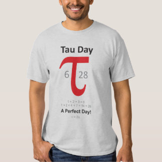 Tau Day - A Perfect Day! Tee Shirt