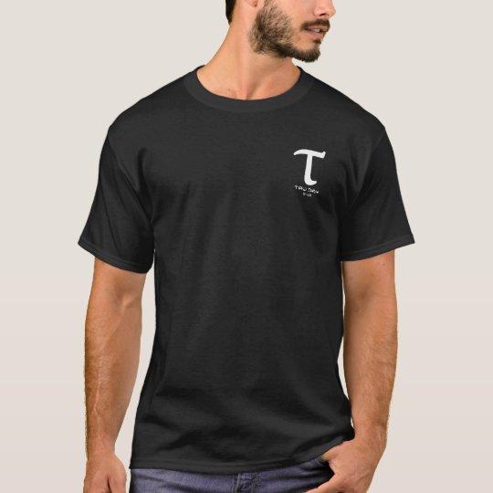 Tau Day - White Greek Symbol T-Shirt