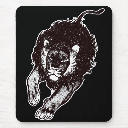 Tau del mousepad de los leones (blanco y negro)