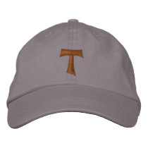 TAU franciscan Cross - TAU francescana Embroidered Baseball Hat