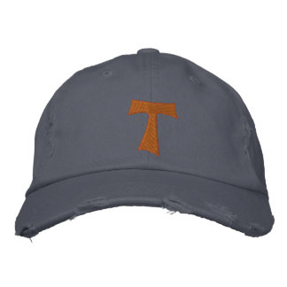 TAU franciscan Cross - TAU francescana Embroidered Hats