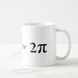 Tau is the new Pi Coffee Mug