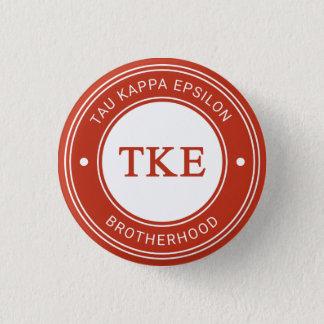 Tau Kappa Epsilon   Badge Button