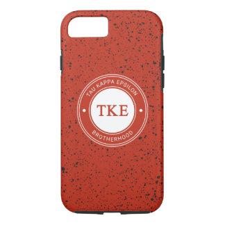 Tau Kappa Epsilon   Badge iPhone 8/7 Case