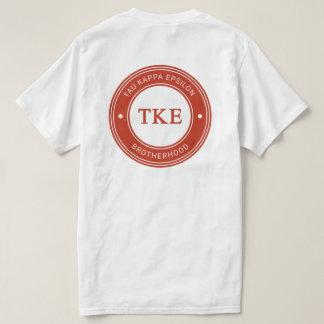 Tau Kappa Epsilon   Badge T-Shirt