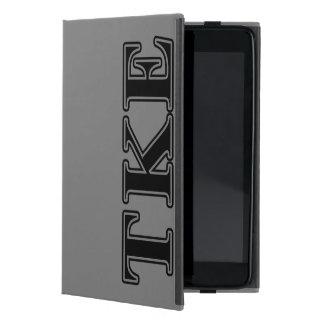 Tau Kappa Epsilon Black Letters Cover For iPad Mini