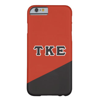 Tau Kappa Epsilon | Greek Letters Barely There iPhone 6 Case