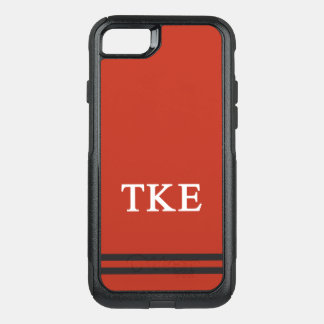 Tau Kappa Epsilon | Sport Stripe OtterBox Commuter iPhone 7 Case