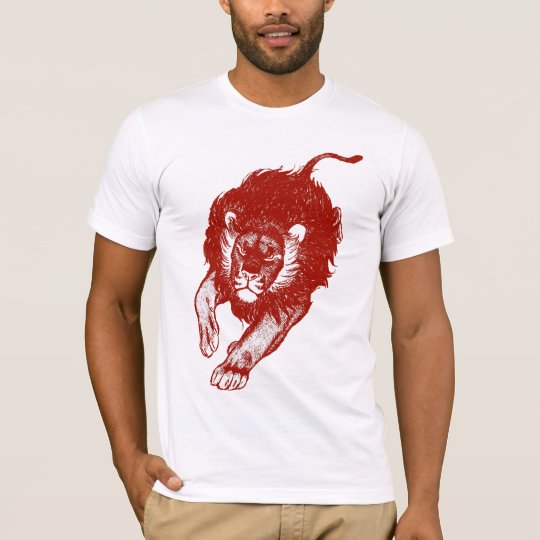 Tau Of The Lions T-shirt (red)