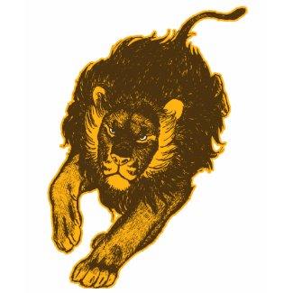 Tau Of The Lions Women T-shirt (gold) shirt