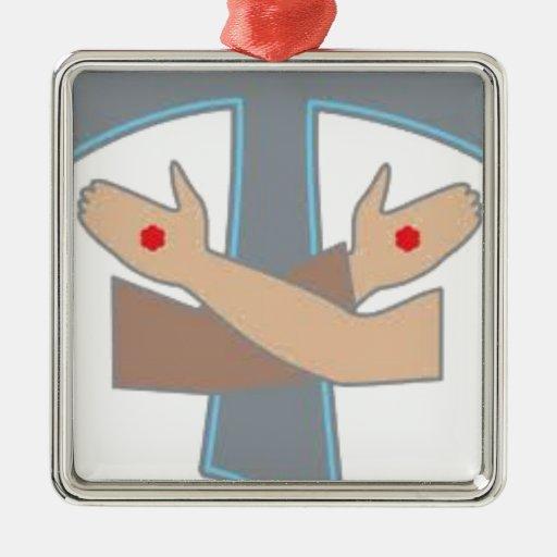 Tau Stigmata Chain, Decoration, Ornament, Stickers