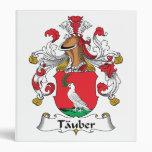 Tauber Family Crest Binders