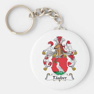 Tauber Family Crest Keychains