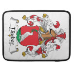 Tauber Family Crest MacBook Pro Sleeves