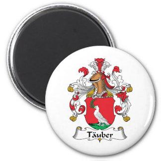 Tauber Family Crest Fridge Magnets